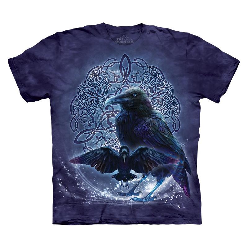 Celtic Raven T Shirt Clothingmonster Com
