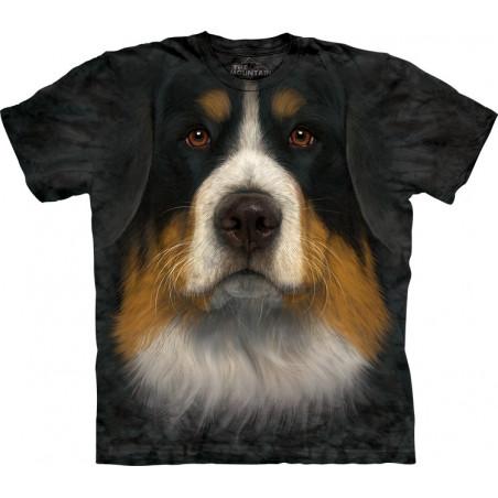 Bernese Mountain Dog Tshirts Bernese Mountain Dog Face T-Shirt The Mountain