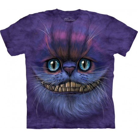 3D Big Face Cheshire Cat T-Shirt