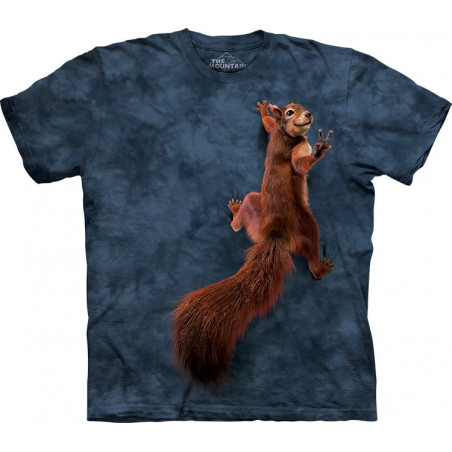 Peace Squirrel T-Shirt The Mountain