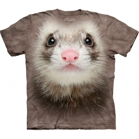 Ferret Face T-Shirt The Mountain