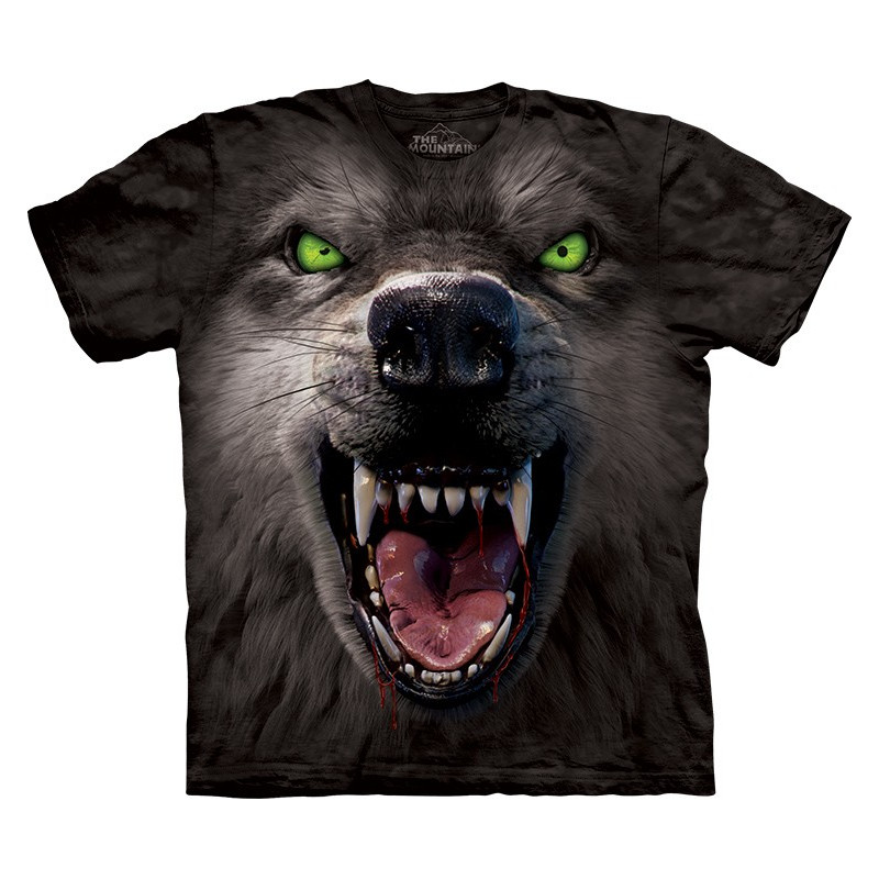 Big Face Attack Wolf