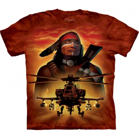 Apache Warrior T-Shirt The Mountain