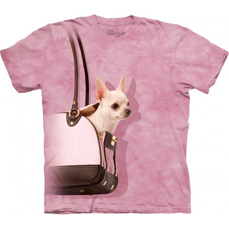 Handbag Chihuahua T-Shirt The Mountain