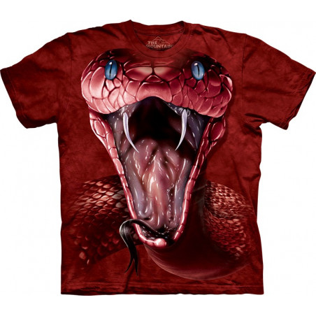 Red Mamba Face T-Shirt