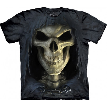 3D Big Face Death T-Shirt