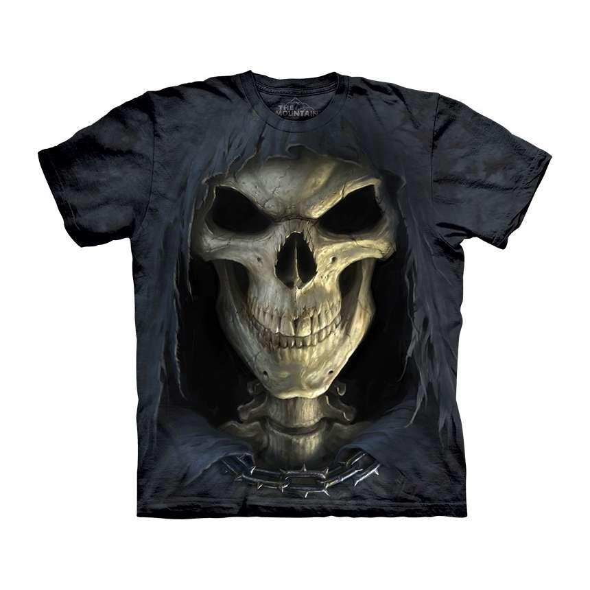 3d skull t shirt