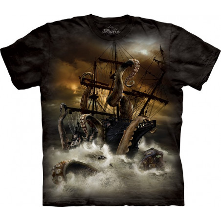 Kraken T-Shirt The Mountain
