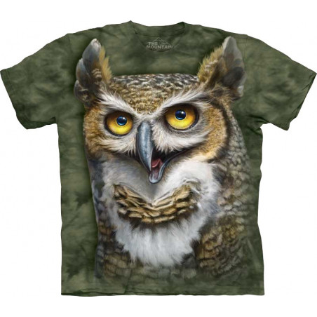 Wise Owl T-Shirt The Mountain