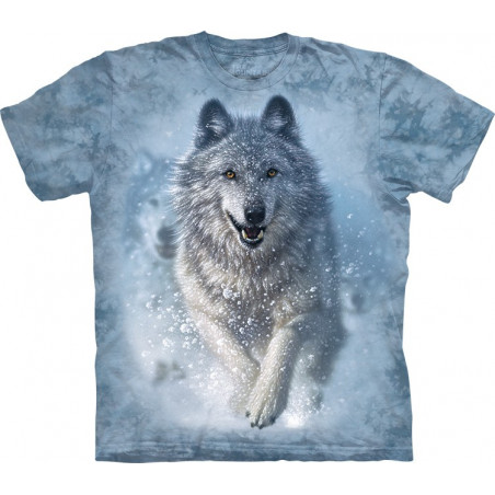 Wolf Snow Plow T-Shirt