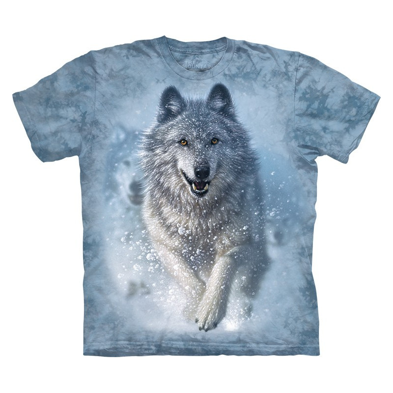 wolf snow plow t shirt. Black Bedroom Furniture Sets. Home Design Ideas
