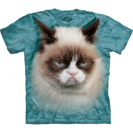 3D Grumpy Cat T-Shirt