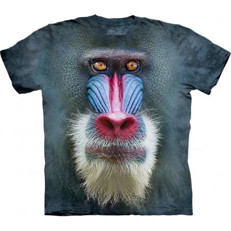 Big Face Mandrill Baboon