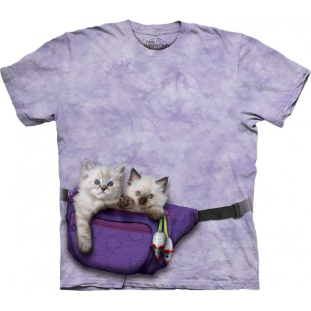 Fanny Pack Kittens T-Shirt The Mountain