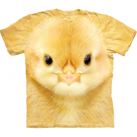 Big Face Baby Chick T-Shirt The Mountain