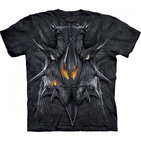 Big Face Dragon T-Shirt The Mountain