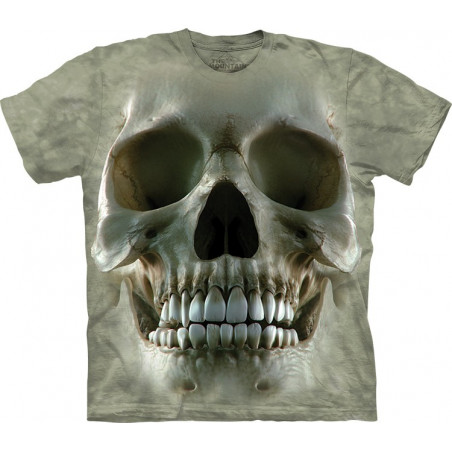 Cool Big Face Skull T-Shirt