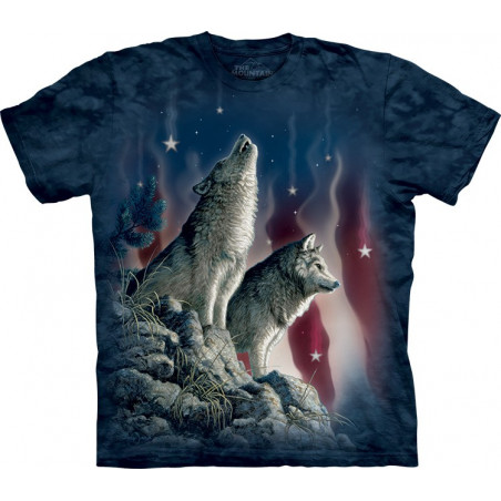 Wolves Falling Stars T-Shirt The Mountain