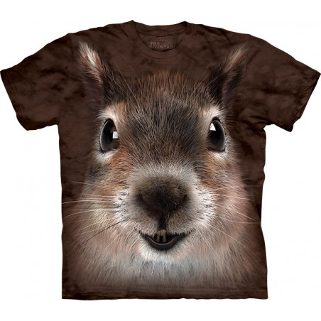 The Mountain Squirrel Face T-Shirt