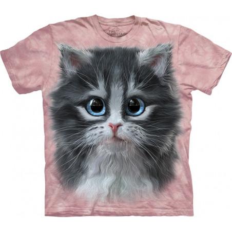 Pretty in Pink Kitten T-Shirt The Mountain