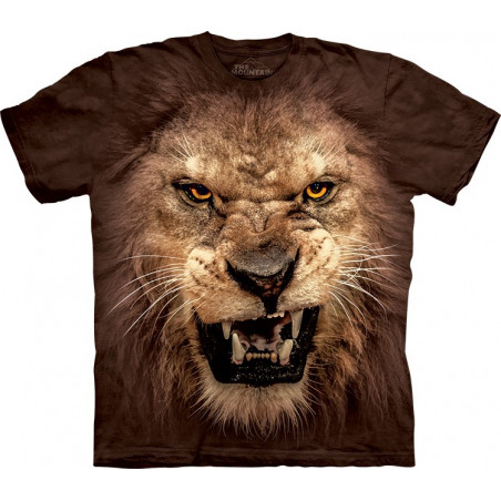 Big Face Roaring Lion