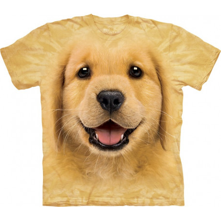 Smiling Golden Retriever Puppy T-Shirt