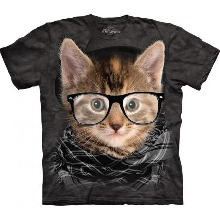 Hipster Kitten T-Shirt The Mountain