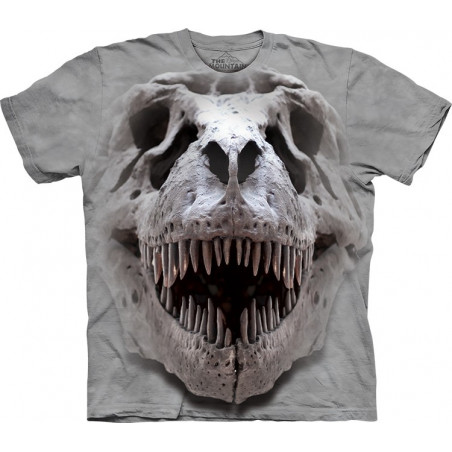 T Rex Big Skull T-Shirt The Mountain
