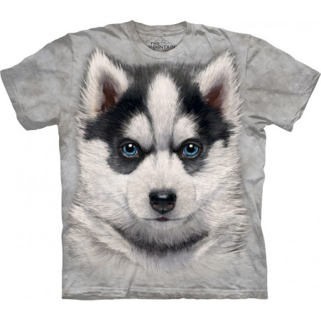 Siberian Husky Puppy T-Shirt The Mountain