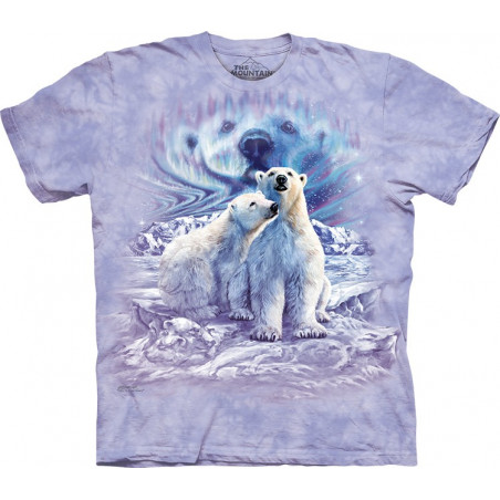 Find 10 Polar Bear Pair T-Shirt The Mountain