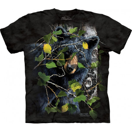 Find 8 Black Bears T-Shirt The Mountain