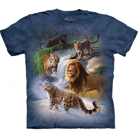Global Cats T-Shirt The Mountain