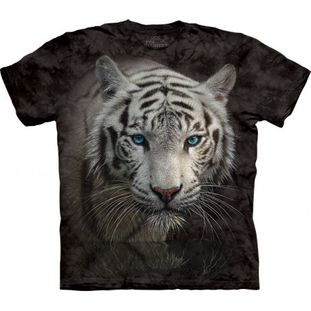 White Tiger Reflection T-Shirt The Mountain
