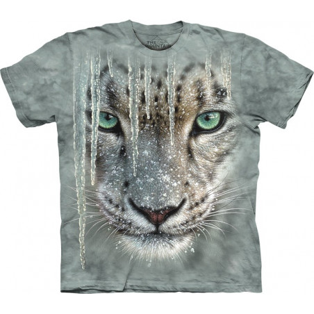Icicle Snow Leopard T-Shirt The Mountain