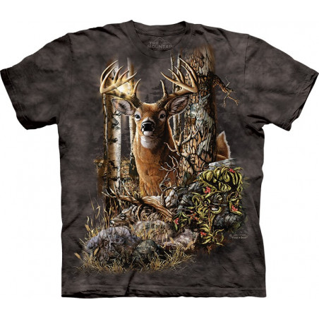 Find 9 Deer T-Shirt The Mountain