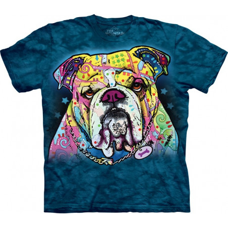 Colorful Bulldog T-Shirt