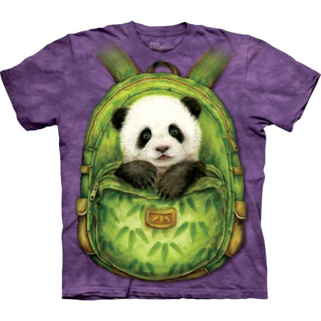 Backpack Panda T-Shirt The Mountain