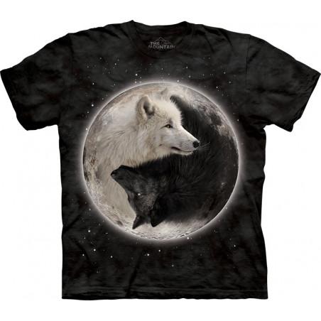 Yin Yang Wolves T-Shirt