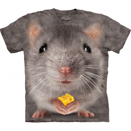 Big Face Grey Mouse T-Shirt The Mountain
