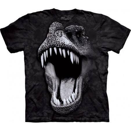 The Mountain Big Face Glow Rex T-Shirt