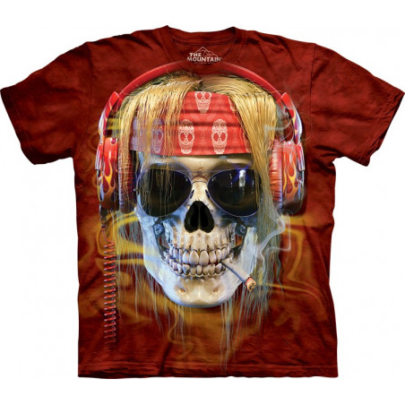 Rocker Skull T-Shirt The Mountain