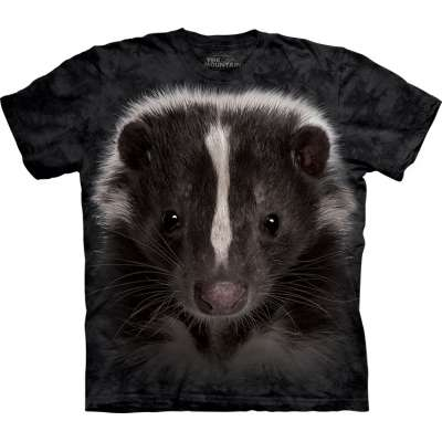 Skunk Portrait T-Shirt The Mountain