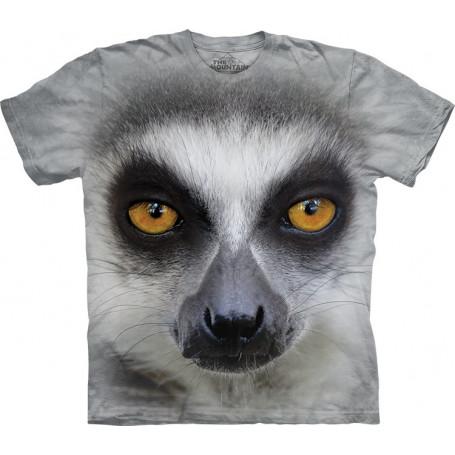 Big Face Ring Tailed Lemur