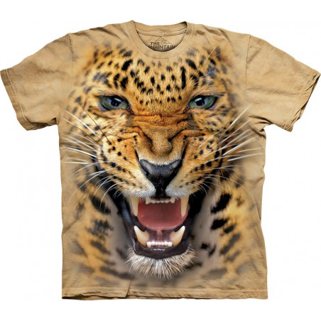 Angry Leopard T-Shirt