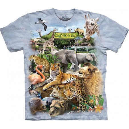 Zoo Puzzle T-Shirt The Mountain