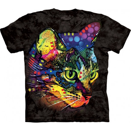 Cat Mysterio Gaze T-Shirt The Mountain