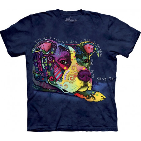 Dog Give Love T-Shirt The Mountain
