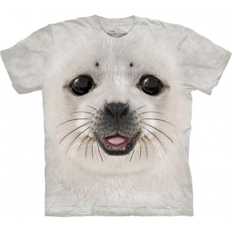 Big Face Baby Seal T-Shirt The Mountain