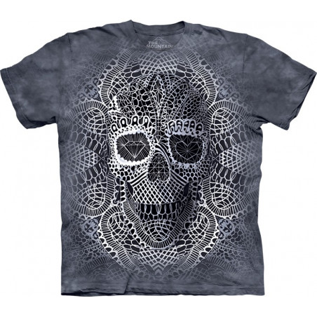 Lace Skull T-Shirt The Mountain