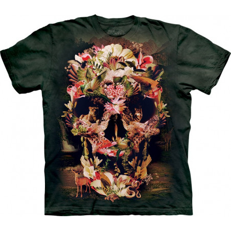 Jungle Skull T-Shirt The Mountain